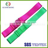 colorful cheap custom luggage strap wholesale, luggage inside strap buckle, luggage strap wheels