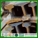 Cheapest perforated U71Mn U71 45Mn 43 kg heavy steel rail railway