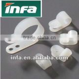 R Type Cable Clamp(Plastic cable clamp,small cable clamps)