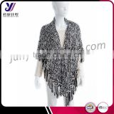 Fashion knitted scarf big pashmina shawl solid color for women cape wholesale china (accept custom)