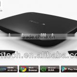 3d blue-ray android smart tv box 1080 P media player , 1GB DDR3 4GB/8GB Nandflash, supports google tv market