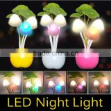 EU US Plug Electric Induction Dream Mushroom Fungus Lamp 3 LEDs Nightlight bulb LED RGB breathing Night lights