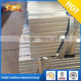 ASTM standard zinc plated rectangular steel pipe/tube/pre galvanized square hollow section 40*40*1.8mm