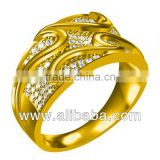 3d CAD design of Ring jewelry