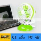UNI-807 Usb fan flexible mini clip fan for power bank 2 speeds 6 inch fan blue green brown color