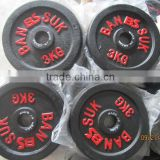 gym equipment painted adjustable cast iron dumbbell weights set/ painted dumbbell