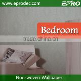 Italian Design non-woven material paper back wall fashion wallpaper with Competitive Price