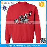 Winter Outdoor Casual Sweatshirt Cotton Fleece Crewneck Sweatshirt Custom Mens Sweatshirt