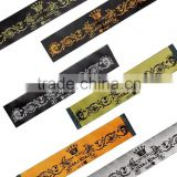 2015 Jacquard Ribbon Polyester Ribbon for Clothing Decoration Used in T shirt Collar as Brand Label
