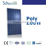0.5 kw flat plate solar powered advertising panel collector 5W-330W