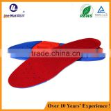 full length anti-shock breathable pu sport shoe insole for long walking