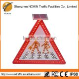 High quality 4.5cm distance leds triangle car warning light