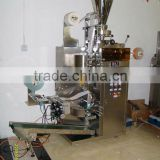 Tea Pouch Packing Machine with inner and outer bag