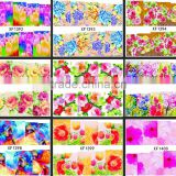 2015 New Flower Bows Water Transfer Sticker Nail Art Decals Nails Wraps Temporary Tattoos Watermark Nail Tools