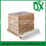 Safety blue pallet stretch wrap polyethylene transparent film 12mic ~30mic stretch shrink wrap