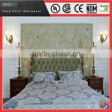 Good Building Material decorative silk wallpapers for hotels wall