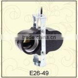 E26 two branch ul approved Bakelite Lampholder