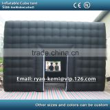 6m black inflatable cube tent outdoor inflatable party tent inflatable tent china large inflatable event tent