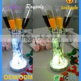 Table Decoration Lighting 4 inch Single Color LED Light Base for Wedding Table Decoration