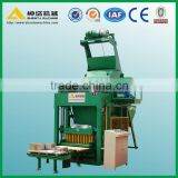 Hot sale! brick making machine with concrete mixer! Shenta QTJ5-20 used concrete brick making machine for sale