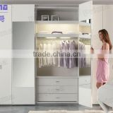 Bedroom Furniture assemble plastic portable wardrobe closet