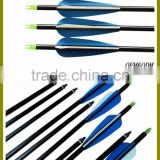 Aluminum Arrow Shaft Archery Hunting For Compound And Recurve Bow