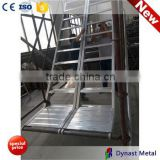 Aluminum Alloy 6061-T6 2m height 3m length 600 width scaffolding industrial portable aluminum stairs