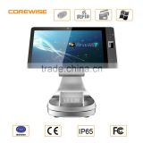 IP65 Industrial Android fingerprint scanner tablet pc with contact / contactless IC Card