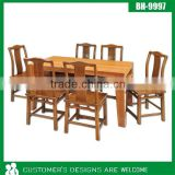Dining Table With Drawer, Modern Dining Table, Long Narrow Dining Table