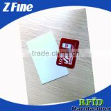 13.56mhz Contactless NFC Key Tag/Blank White RFID Blocking Card