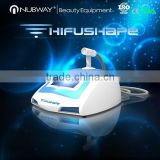Skin Tightening Best Mini Ultrasound Machine/ Portable Home High Focused Ultrasonic HIFU Skin Tightening Beauty Salon Equipment High Frequency Machine Facial