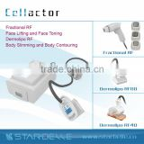 Radio Frequency Vacuum Shape Body Cellulite Removal/Face Micro Cell Fractional RF-Cellactor