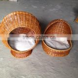 pet bamboo bird cage/ bamboo material by handmade