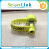 TPU high quality rfid ear tags for sheep, electronic ear tags for Animal tracking management