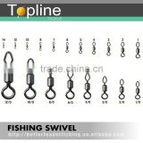 High Quality round and diamond eye rolling swivel /stainless steel fishing swivel