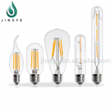 E27 E14 B22 filament led light bulb 2W 4W 6W light led bulbs
