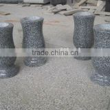 Grey Granite Monument Vases