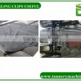 toggling machine clip with leather machine spare parts