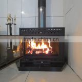CE certificates high quality europe style decorative wood burning fireplace inserts HS-X9N