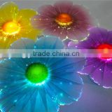 wholesale new design artificial plastic flowers with LED light