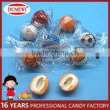 Hollow Bubble Gum Ball Fruit Football Gums