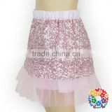 Adorable Baby Girls Mini Skirt Cotton & Chiffon & Sequin Skirt Hot Baby Girls Short Skirt Fit 0-6 Years Old