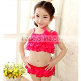 2016 new girls swimming designs beachwear swimwear bikini cute baby bikini