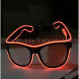 3 Flashing Modes Light Up EL Wire Glasses LED Voice Control Party Glasses Colorful Glowing Toys For DJ/ Bright Light/ Holiday Gift