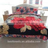 Wholesale home fashions blanket comforter sets bedding