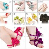 2013NEW!! Beauty barefoot sandals for baby