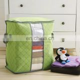 High Quality Thickened & Foldable Colorful Non-woven Carbon Fabric Apperal Quilt Storage Box