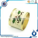 custom picture metal bulk wholesale napkin ring