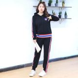 Large number women's dress 2018 spring wear new sportswear casual suit.