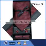mens tie gift box with cufflink hanky
